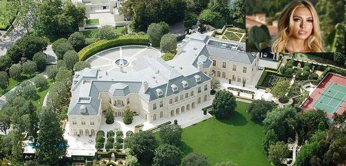 BINNENKIJKEN in het nu nog 'maar' 175 miljoen dollar kostende huis met 123 kamers van dochter F1-baas Bernie Ecclestone