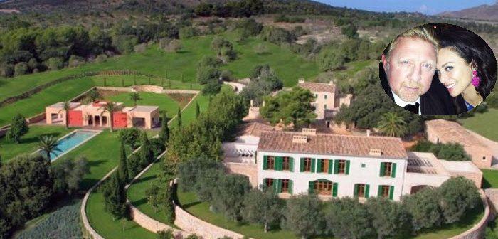 BINNENKIJKEN in de villa van 12 miljoen op MALLORCA die nu geveild wordt omdat BORIS BECKER failliet is verklaard