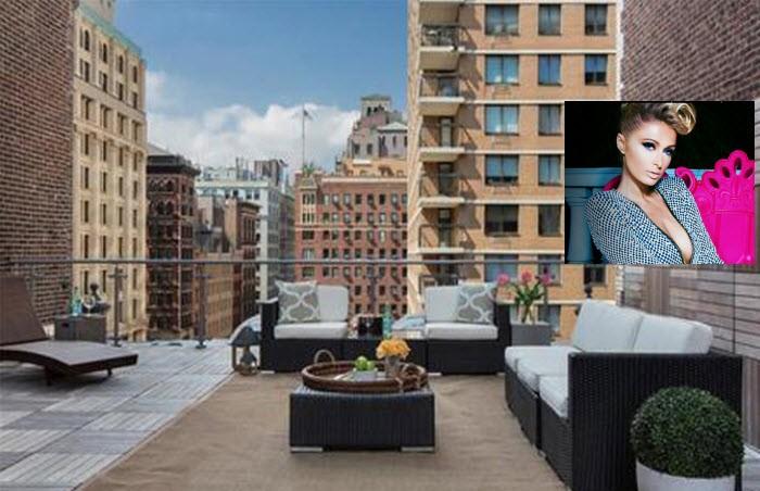 Paris Hilton (en haar zeven honden) gaan in dit penthouse in Manhattan wonen