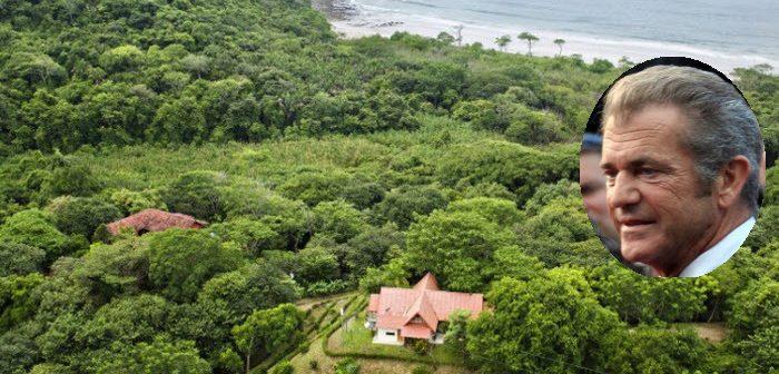 BINNENKIJKEN in het JUNGLEPARADIJS van MEL GIBSON in COSTA RICA te koop voor 40.3 MILJOEN