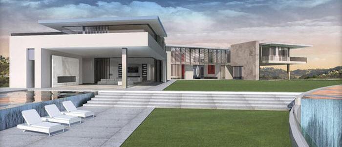 500 miljoen hollywood producer bouwt duurste huis ter wereld - Tijdschriftenrek huis van de wereld ...