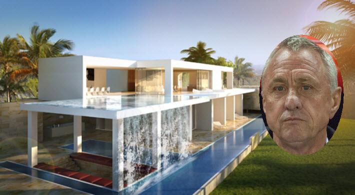 Binnenkijken johan cruyff koopt voor drie miljoen euro for Interieur huis patty brard