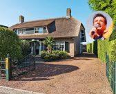 BINNENKIJKEN in de villa van GERARD JOLING waar hij €330.000 minder voor krijgt dan gehoopt, maar toch nog €340.000 winst op maakt….