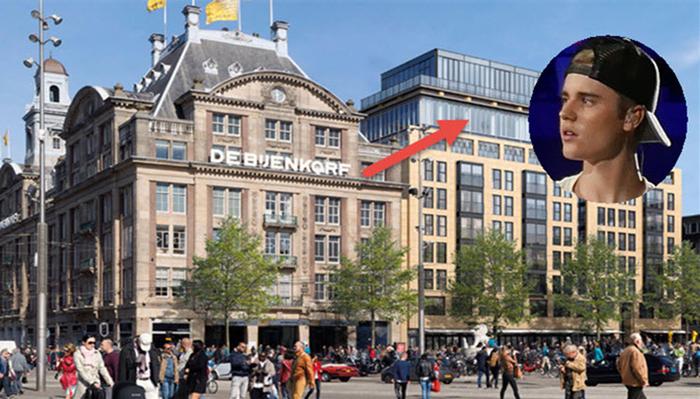 Binnenkijken justin bieber koopt duurste appartement van nederland 25 miljoen for De ingang van het huis