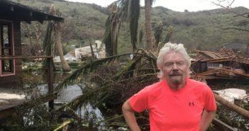 VIDEO – Miljardair RICHARD BRANSONS Necker Island deels verwoest door orkaan Irma