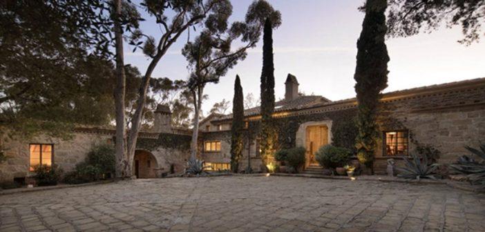 BINNENKIJKEN op het SANTA BARBARA LANDGOED van ELLEN DEGENERES dat u kunt kopen voor 45 miljoen dollar