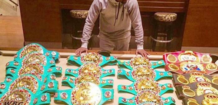 BINNENKIJKEN bij Floyd 'Money' Mayweather in zijn net gekochte stulpje van 21 miljoen euro met immense wijnkelder en verblindende collecties