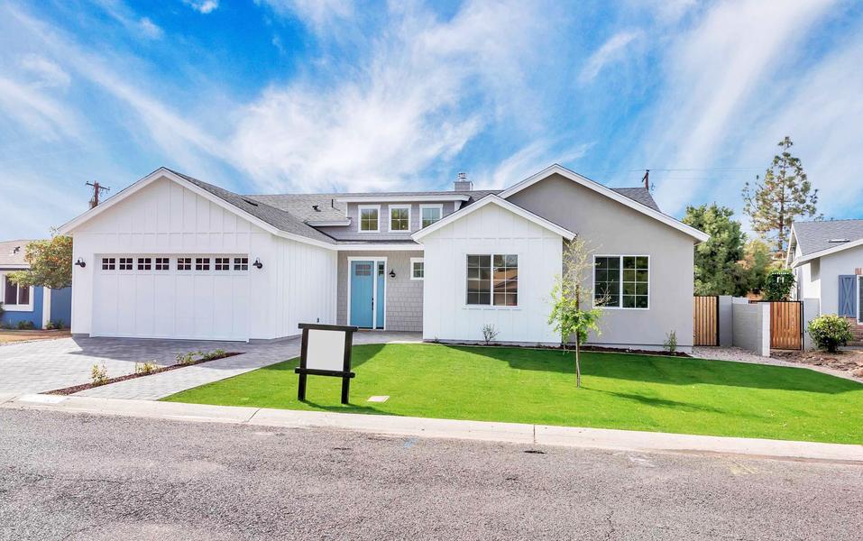 Bijna Perfect Huis : Het prachtige wit van deze villa doet bijna koloniaal aan de