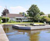BINNENKIJKEN bij PRINSES MABEL die watervilla aan Loosdrechtse Plassen koopt (dichtbij haar moeder en de plek waar haar vader verdronk)