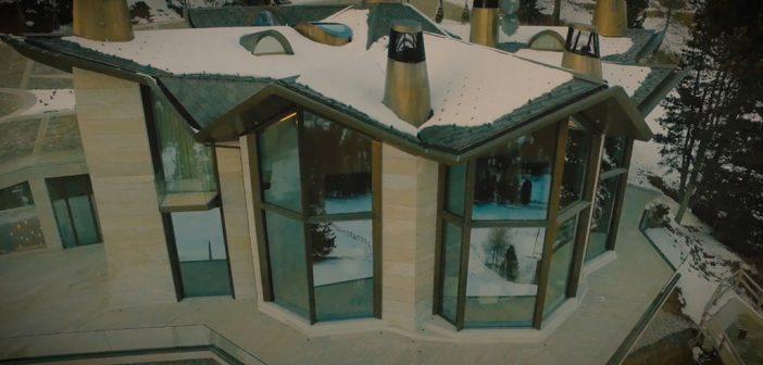 BINNENKIJKEN in het duurste huis van Zwitserland -160 miljoen euro- dat directe toegang heeft tot de pistes van St. Moritz